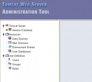Tomcat Web Server Administration Tool 登陆后